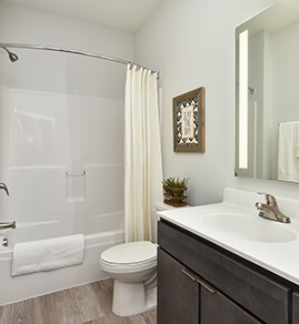 townhouse bathroom