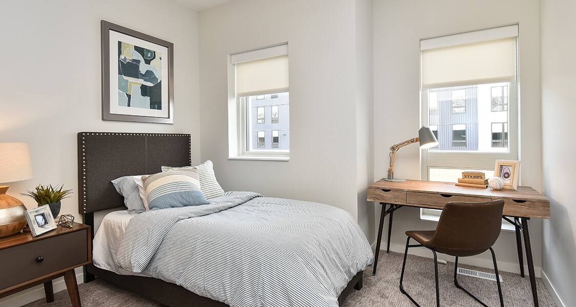 townhouse bedroom